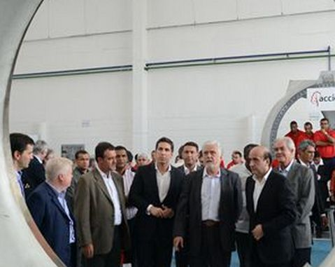 ACCIONA Windpower opens its first wind power component manufacturing plant in Brazil