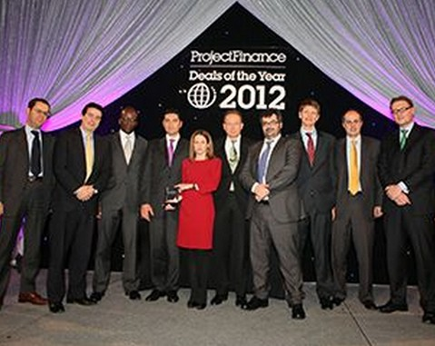 "ACCIONA wins Project Finance Magazine ""Deal of the Year"" prize for innovative wind farm project bonds"