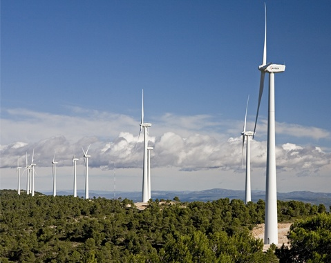 ACCIONA Energía, pioneer in providing electric power system adjustment only using wind power