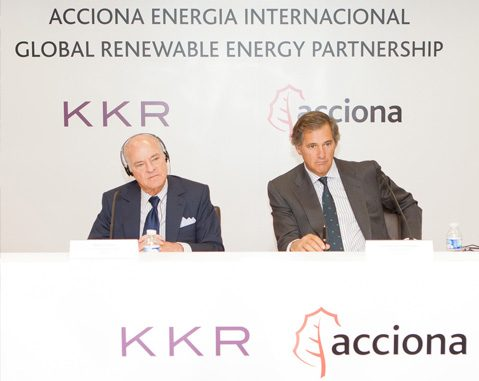ACCIONA and KKR reach financial close for global alliance in renewable energy