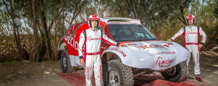ACCIONA 100% EcoPowered Dakar 2015 in Conama