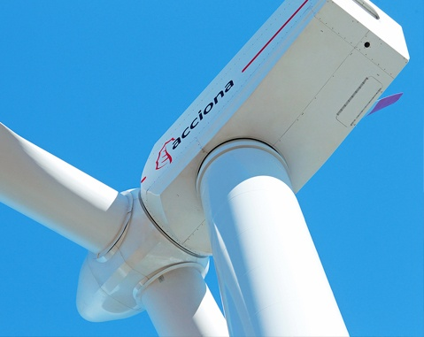 ACCIONA Windpower passes 2,000 MW in sales of its AW 3000 turbine