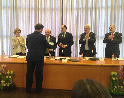 ACCIONA receives a prize from the University of Cantabria for its contribution to R&D+i at university level