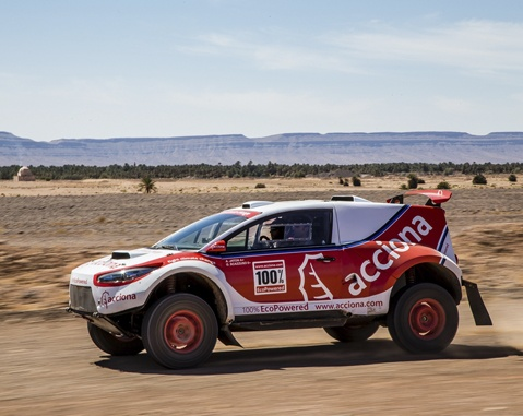 ACCIONA 100% Ecopowered is ready for the toughest Dakar in ten years