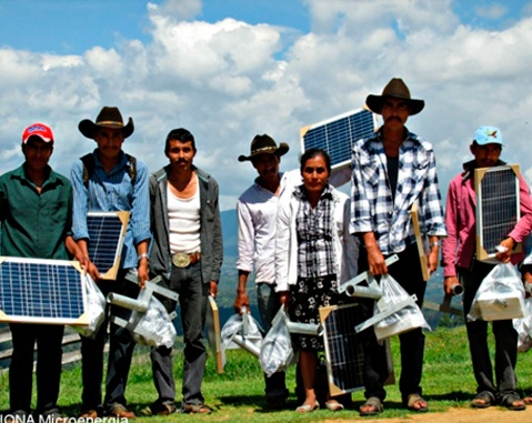 "More than 15,000 people have electricity with the ""Luz en Casa Oaxaca"" programme"
