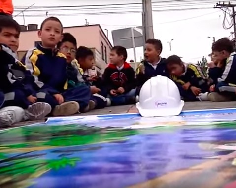 Employees of ACCIONA Construction in Colombia get involved in social initiatives