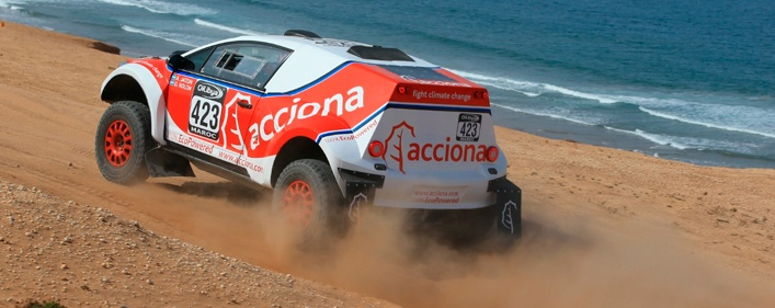 ACCIONA 100% Ecopowered returns to the Dakar Rally- 2017