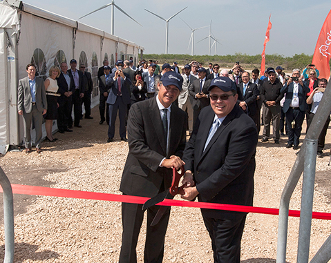 ACCIONA inaugurates its eighth US wind farm in Texas