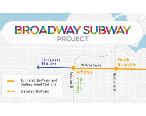 ACCIONA selected as preferred proponent for Vancouver broadway subway project